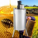Extracteur électrique de miel de ruche d'approvisionnement de l'apiculture d'acier inoxydable de 3 bâtis