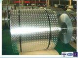 Checkered Aluminiumstab der Platten-fünf für Schlussteil/Werkzeugkasten/Fußboden