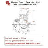 Machine automatique hydraulique de Splitting_Splitter de pierre de granit de face normale