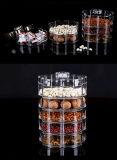 Rectángulos de acrílico claros amontonables del caramelo