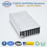 De Uitdrijving van het Aluminium van de hoge Precisie voor Heatsink met CNC het Machinaal bewerken