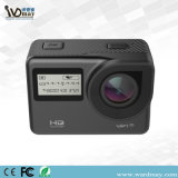 De nieuwe Camera van de Actie van de Controle van WiFi 2.4G Romote van het Scherm van Untra HD van het Ontwerp Uiterst dunne Dubbele 4k
