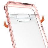 Cas en cristal ultra mince de téléphone cellulaire pour Samsung S8 plus