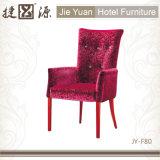Gewebe gepolsterte Hotel-Esszimmer-Stühle (JY-F80)