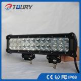 éclairage d'entraînement de véhicule de camion de rangée de double de barre d'éclairage LED du CREE 72W
