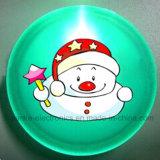 Blinkendes LED Abzeichen Weihnachtsgeschenke PS-mit Firmenzeichen gedruckt (3569)