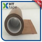 Cinta adhesiva de la cuerda de rosca PTFE del Teflon de Brown del silicón fuerte