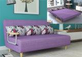 ベッドデザイン工場直売付きの150cmの現代角のソファー