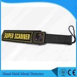 Detetor de metais super da mão do varredor do detetor de metais à mão portátil elevado do alarme da sensibilidade