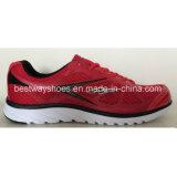 O engranzamento ocasional da tela das sapatas Running calç sapatas dos homens das sapatas dos esportes