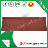 Tuile de toit enduite en métal de zinc d'usine de pierre ondulée en aluminium directe de plaque dans Guangzhou