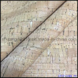 Natural Cork PU Leather for Shoes Bags New Fashion Material