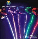 호박색 색깔 LED 지구 빛