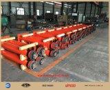 Cric hydraulique pour les crics longitudinaux de construction de réservoir