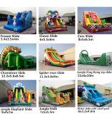 2014 nuevo diseño inflable de alta Slide con EN14960 Certificación (RB6038)