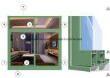 Perfil do alumínio de Windows da faixa da série Jlh-80