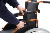 Облегченная, Muti-Функциональная, ручная кресло-коляска с PU катит (YJ-037D)