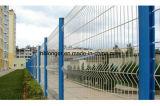 Recinzione rivestita della rete metallica del ferro del PVC di alta qualità