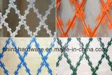 Approvisionnement d'usine de clôture de fil de glissière de sécurité de barbelé de rasoir
