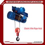 Élévateur électrique de déplacement de câble métallique de monorail avec le contrôle en suspens