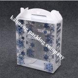 Caixa plástica de dobramento impressa do pacote do animal de estimação desobstruído da qualidade superior para o pacote de Nuk