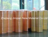 Ткань Nonwoven слоения PE Grey&Yellow 100% водоустойчивая защитная общая материальная