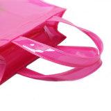 Bolso de compras impermeable tamaño pequeño de la jalea del PVC (H033)