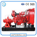 Pompa centrifuga diesel di drenaggio di doppia aspirazione della singola fase