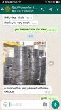 Qualità della Taiwan una macchina saltata pellicola di due strati