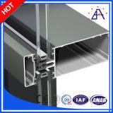 Perfil de aluminio para el marco de creación de la pared de cortina