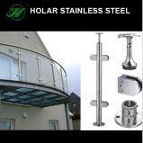 Montage van de Leuning van het Roestvrij staal van de Spiegel van Holar de Poolse