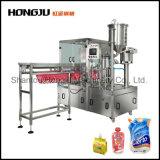Máquina de enchimento detergente do malote do bico do emoliente 1L 2L