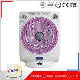 14 Zoll Wechselstrom-u. Gleichstrom-nachladbarer Ventilator-stehender Ventilator