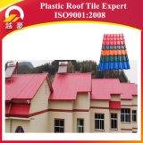 Tuile de toit de résine synthétique de la qualité ASA&PVC/feuille espagnole de toit/tuile de toit anticorrosive