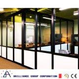 現実的なガラス壁の区分-オフィスガラスのディバイダ