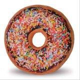 Het levensechte Hoofdkussen van de Doughnut van de Pluche