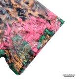 Fábrica de lino de la alineada de las mujeres florales de la impresión de Srta. You Ailinna 101586