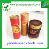 Contenitore di regalo di carta impaccante di vino di bottiglia del contenitore della scatola di su ordinazione il tè
