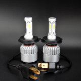 LED車のヘッドライトS2 H4の穂軸60W 7200lm LED車のヘッドライト