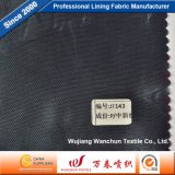 Tela da maquineta do poliéster da alta qualidade para o forro Jt143 do vestuário