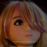 Головка куклы секса кожи Tan верхнего качества для кукол силикона