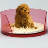 Het vierkante Bed btr-S1028 van het Huisdier van het Bed van de Bank van de Hond Acryl