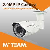 Câmera ao ar livre impermeável do IP da fábrica 1080P HD do sistema do CCTV Survillence de Shenzhen Mvteam