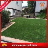 정원을%s 연약한 4개의 색깔 인공적인 잔디 정원 담