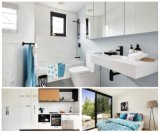 Montaggi d'ottone anticorrosivi della stanza da bagno impostati stanza da bagno moderna di prima qualità