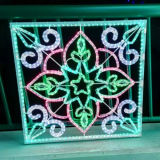 Luz da corda da decoração da luz de Natal do diodo emissor de luz