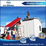 Pequeña casa modular del bajo costo conveniente para el proyecto prefabricado de la casa del gobierno