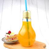 De plastic het Drinken van de Kop van de Gloeilamp Gevormde Flessen van het Sap