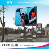 Tela de indicador impermeável ao ar livre quente do diodo emissor de luz da cor cheia do Sell P6mm SMD para o anúncio comercial