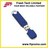 Movimentação plástica do flash do USB do estilo geral com garantia de vida (D114)